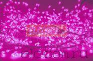 "Гирлянда ""Мишура LED"" 6 м 576 диодов, цвет розовый"