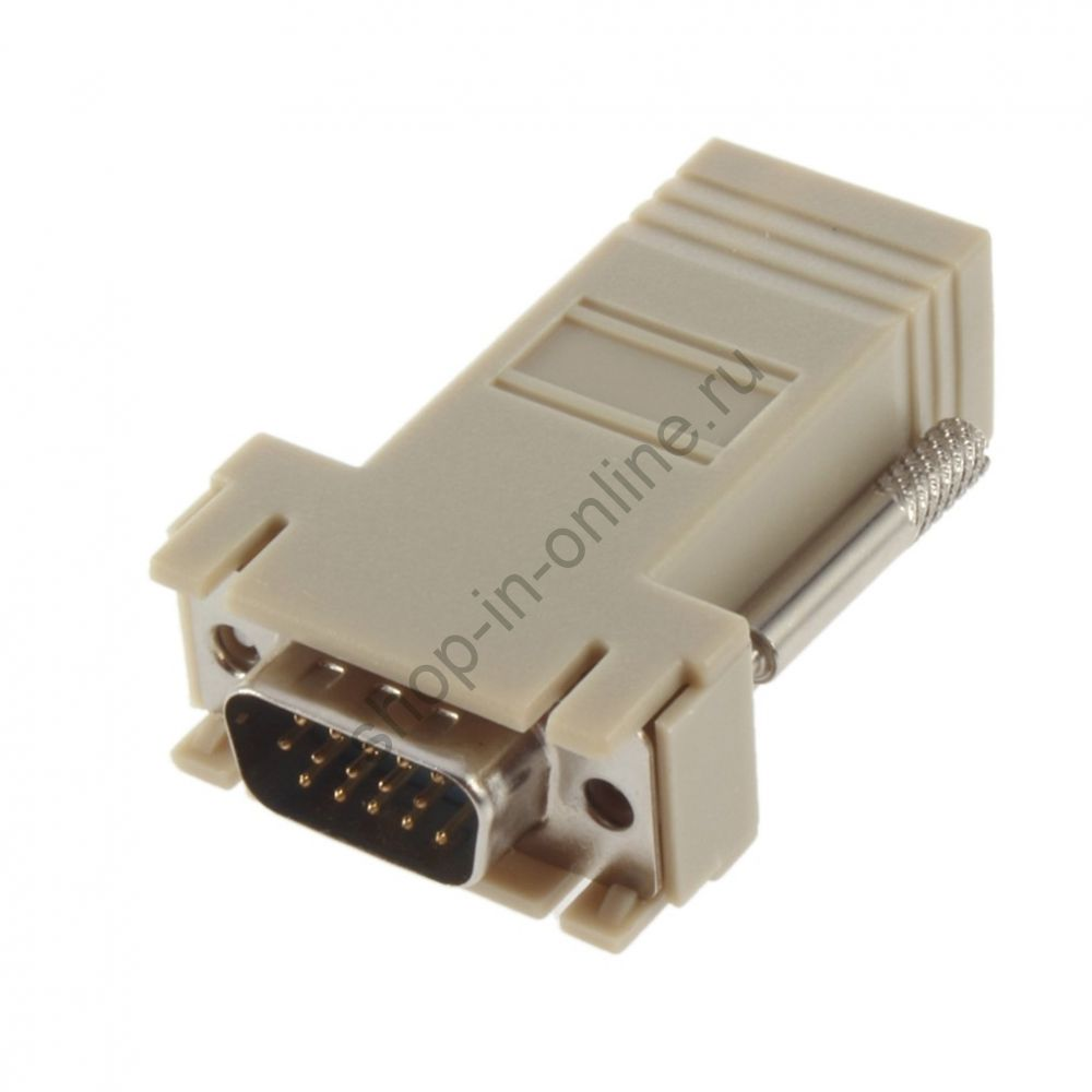 адаптер VGA LAN CAT5 CAT5e CAT6 RJ45