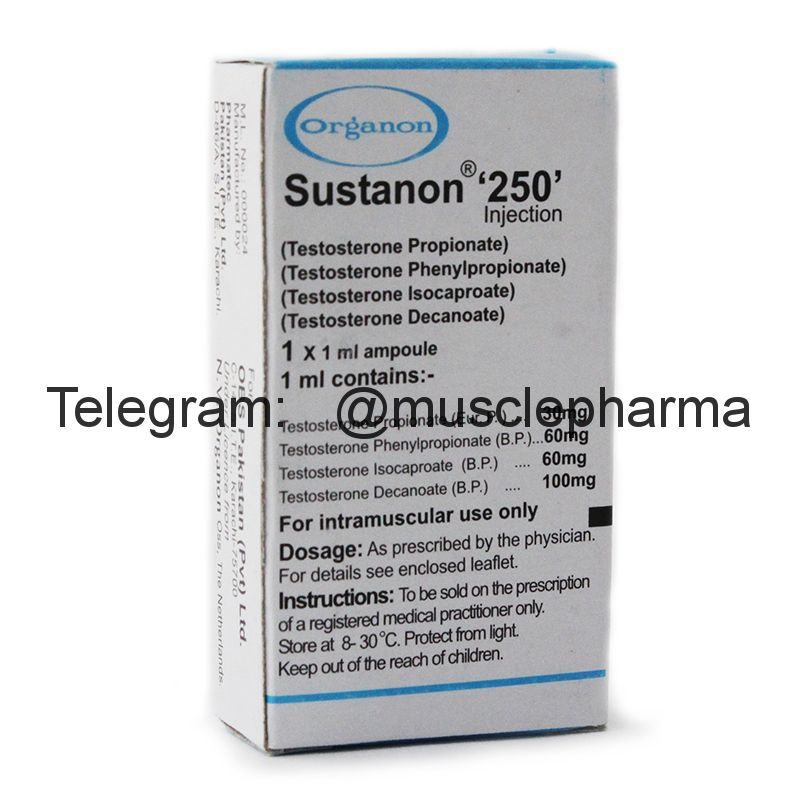 SUSTANON 250 (СУСТАНОН). ORGANON. 1 ампула * 1 мл.