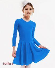 Платье для начинающих голубое