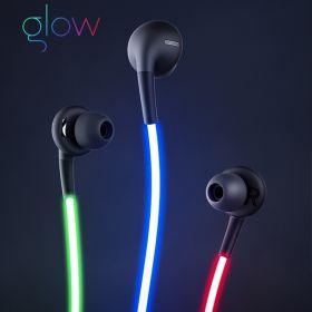 Светящиеся наушники GLOW с EL свечением