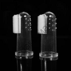 Зубная щетка на палец Китай