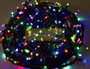 """Гирлянда """"Твинкл Лайт"""" 20 м, 240 диодов, цвет мультиколор, черный провод """"каучук"""", Neon-Night"""