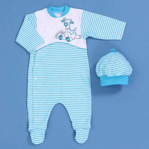 Комплект для новорожденного Бася 615-043
