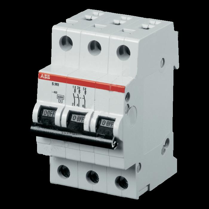 ABB Aвтоматический выключатель 3-полюсной серия S