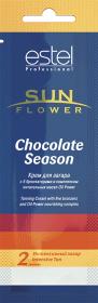 Крем для загара Chocolate Season с 5 бронзаторами и комплексом масел Oil Power