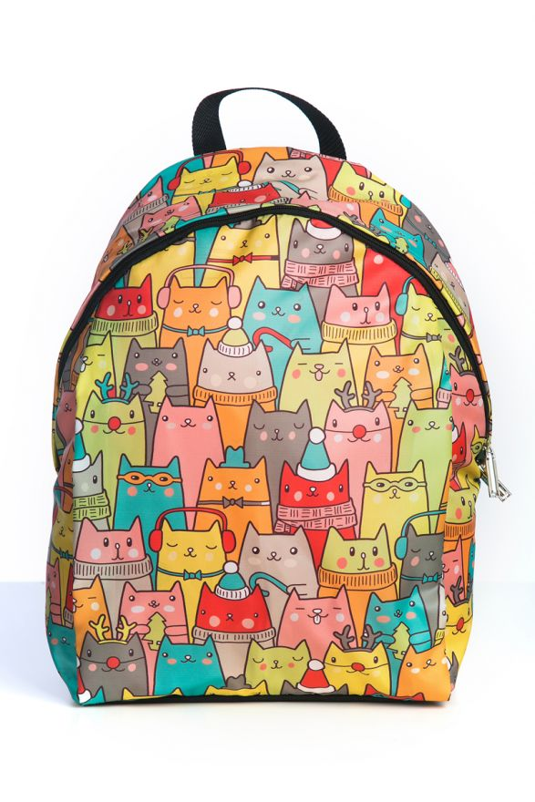 Рюкзак ПодЪполье Colorful cartoon cats