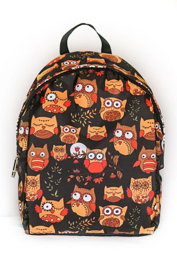 Рюкзак ПодЪполье Owls and Rowan