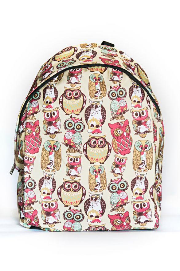 Рюкзак ПодЪполье Owls in an unusual style