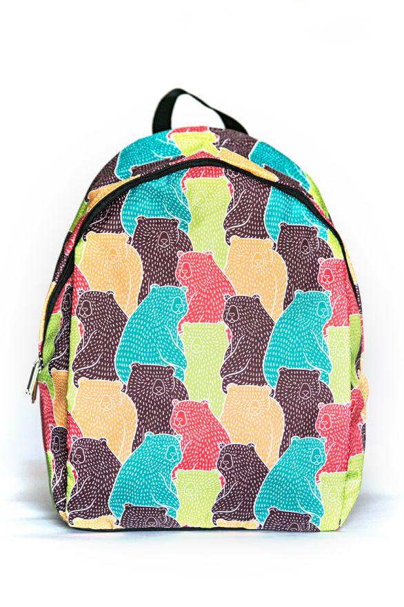 Рюкзак ПодЪполье Colorful bears