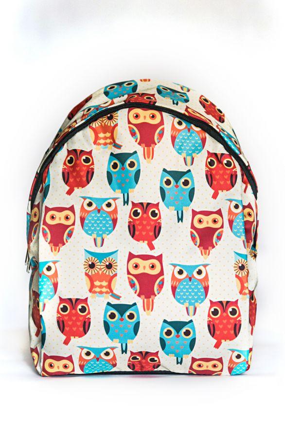 Рюкзак ПодЪполье Blue and orange owl