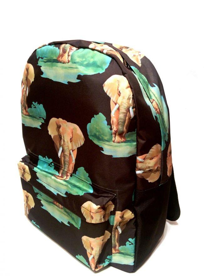 Рюкзак ПодЪполье Elephants on black