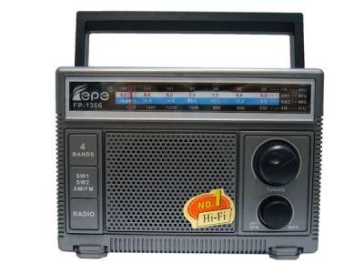 Радиоприёмник Fepe FP-1366 р/п сетевой
