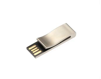 4GB USB-флэш корпус для Apexto AP-Bookmark  закладка клип серебряная