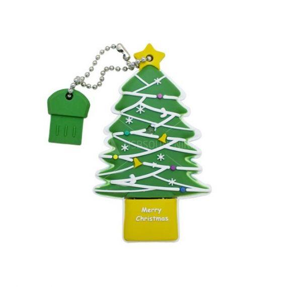 4GB USB-флэш накопитель Apexto TR003 Новогодняя елка