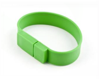 64GB USB-флэш накопитель Apexto U601A браслет зеленый