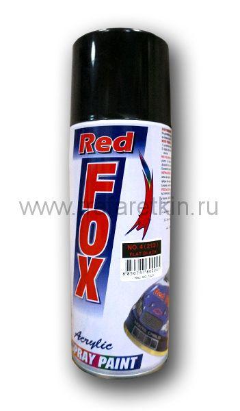 Краска-спрей RED FOX (чёрная RAL 7021)