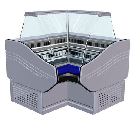 Витрина холодильная «Ариель»  ВС 3 УВ (угол внутр)