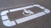 Трафарет - Парковка для инвалидов