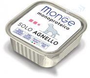 Monge Dog Monoproteico Solo Agnello Паштет для собак из ягненка (150 г)