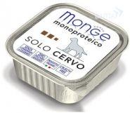Monge Dog Monoproteico Solo Cervo Паштет для собак из оленины (150 г)