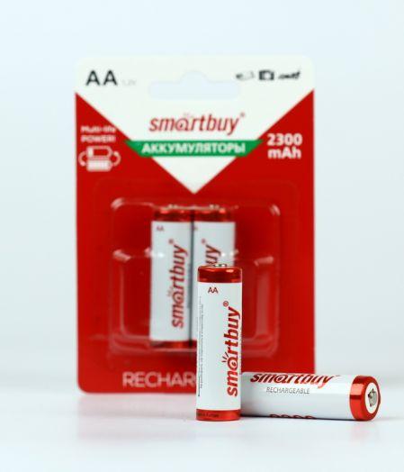 Аккумулятор NiMh Smartbuy AA/2BL 2300 mAh (24/240)