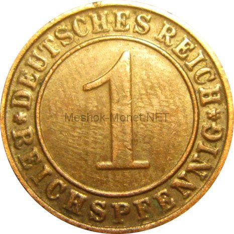Германия 1 рейхспфенниг 1936 г.