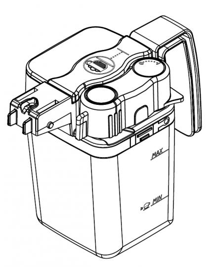 Молочник для кофемашины Philips Saeco Intelia