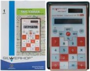 """Калькулятор карманный """"Silwerhof School. SHA-130SCR"""", оранж. (арт. 601008-06)"""