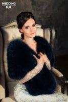 Меховые палантины и накидки купить на вечернее платье фото Гэтсби