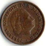 1 цент. 1960 год. Нидерланды.