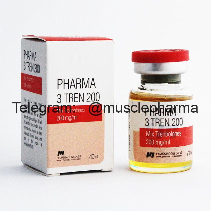 PHARMA 3-TREN 200 (PHARMACOM LABS). 1 флакон * 10 мл.