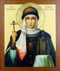 Икона Ольга, княгиня (рукописная)