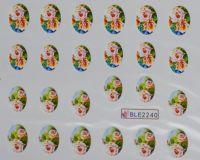 Водная наклейка для дизайна ногтей BLE-2240