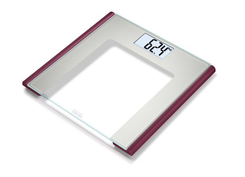 Beurer GS170 Ruby Cтеклянные весы