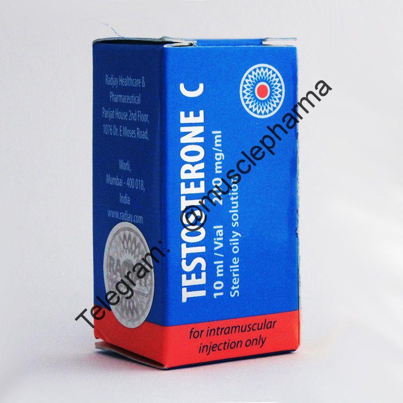 TESTOSTERONA CYPIONATE (RADJAY).  1 флакон * 10 мл.