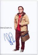 Автограф: Джонни Галэки. Теория большого взрыва