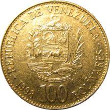 Венесуэла 100 боливар 1998 г.