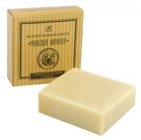 Мыло для умывания и бритья «с каолином, маслом полыни и сандалом»