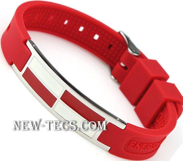 Спортивный браслет Power Band red