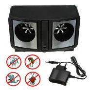 Отпугиватель от мышей, тараканов и грызунов Dual Ultrasonic Pest Repeller
