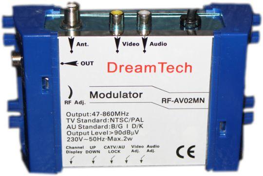 ВЧ Модулятор DreamTech RF-AV02MN