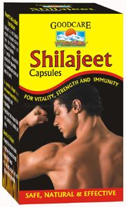 Шиладжит (мумие) для укрепления организма в капсулах Goodcare Pharma Shilajeet Capsules