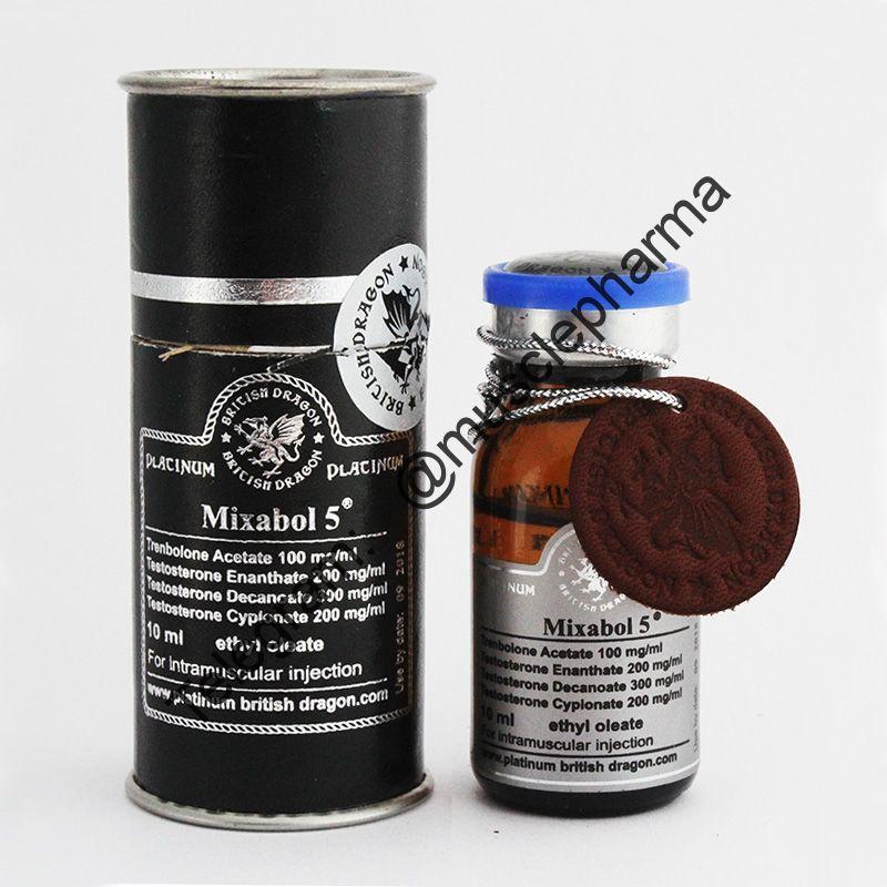 MIXABOL 5 (НА СУХУЮ МАССУ). 1 флакон * 10 мл