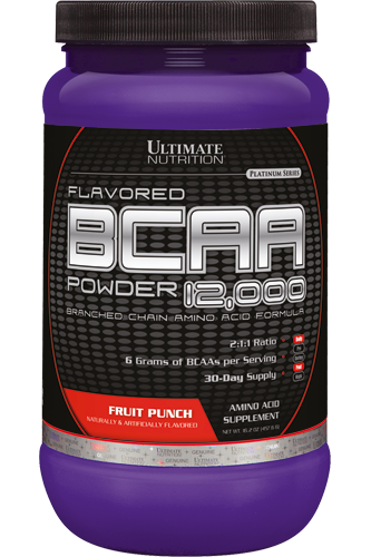 ULTIMATE NUTRITION BCAA 12000 (450гр.) - вишня