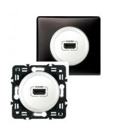 Накладка аудио-видео розетки Legrand Celiane HDMI титан (арт.68516)
