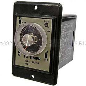 реле времени  AH2-Y 12VDC 1с-30мин
