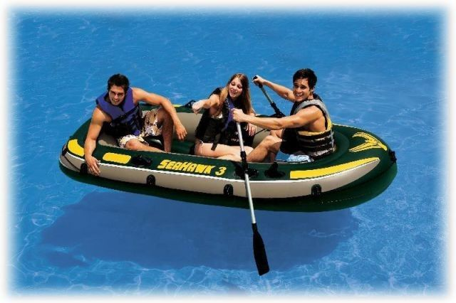 Лодка Seahawk 3 Intex 68349