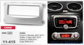 Carav 11-415 (1-DIN FORD Focus II, Mondeo, S-Max, C-Max 2007-2011; Galaxy II 2006-2011; Kuga 2008-2012)