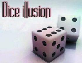 Иллюзия с игральными костями Dice illussion by H.T Magic